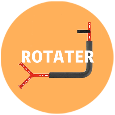 ROTATERロゴ